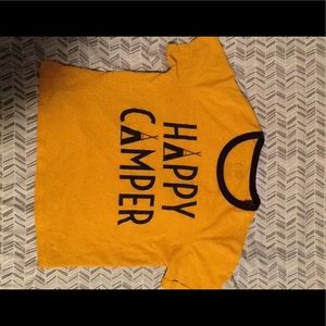 Cropped Happy Camper T-shirt